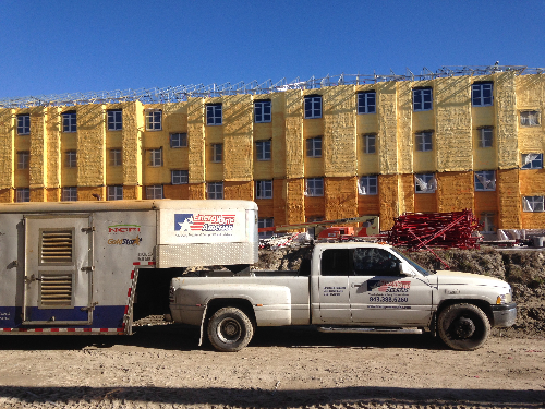 Commerical Spray Foam Insulation from Energy One America