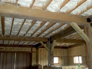 Energy One America Open Cell Spray Foam Horse Barn Insulation