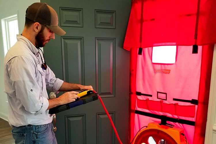 Energy One America Building Science Blower Door Testing