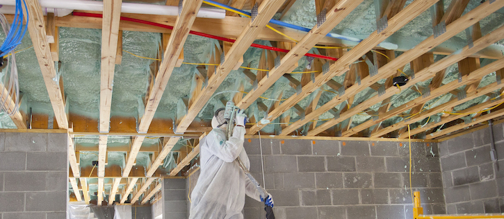 Best Insulation for crawl spaces and basements closed cell spray foam