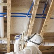 spray foam insulation subfloor