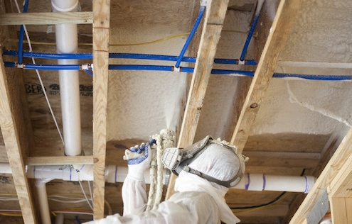 spray foam insulation subfloor