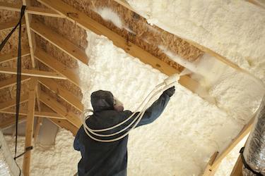 Residential Open Cell Spray Foam Insulation
